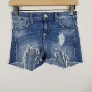 Guess Stretch Distressed Jean Shorts Size 24